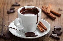 Горячий шоколад, какао